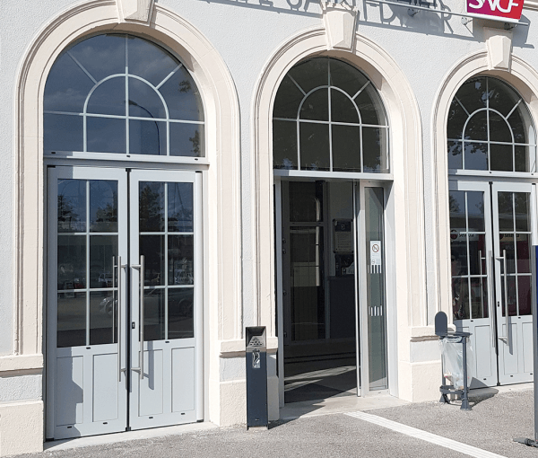 Porte Grand Trafic de la gare SNCF de Saint-Dizier